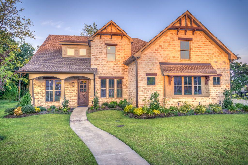 Mit Bauträger finanziertes Haus